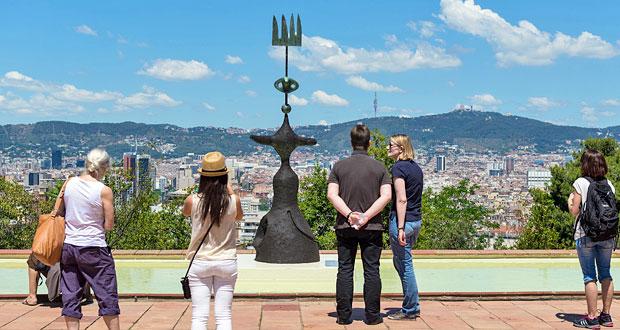 Joan Miro museum Barcelona