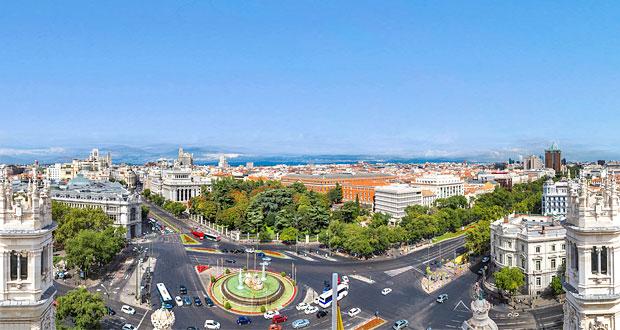 Madrid storbyferie